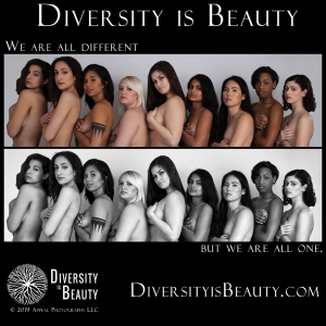 Diversity is Beauty - We Are All One
